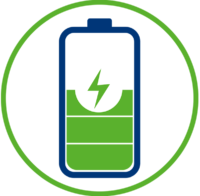 Almacena tu energía para cubrir tus picos de demanda. También es posible hacer proyectos 100% desconectados de la red.